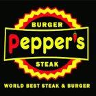 مطعم pepper's