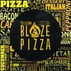بيتزا اللهب الأصفر