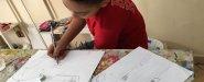 اطفال واعمالهم الفنية