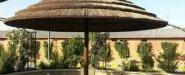 مظلات حدائق عريش بامبو الرياض