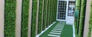 شركة تنسيق حدائق الرياض جدة الدمام ارخص سعر متر عشب صناعي عشب جداري خشب جداري شلالات احواض ممرات افضل شركة تنسيق حدائق ثيل صناعي  0553268634