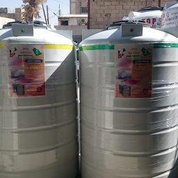 خزانات مياه الروتيشن صنف غذائي  يتكون من طبقتين وثلاث طبقات  مكفول عشر سنوات موقع المصنع سحاب شارع الستين 078812328