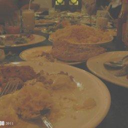غدانا في مطعم سرايا