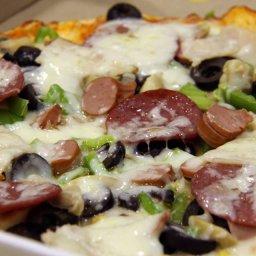 ازكى انواع البيتزا تجدونها لدى فرن سامر للمناقيش اللبنانية , بيتزا , مناقيش لبنانية , فرن سامر صويفية