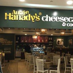 Finally Auntie Hanady Cheesecake in City Mall