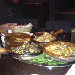 The fukhara dishes (clay pots)