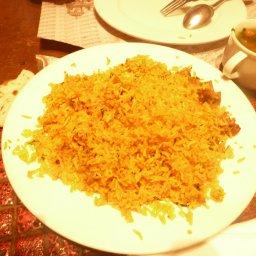 الرز البرياني ... شئ ما يتفوت ابدا في المطعم