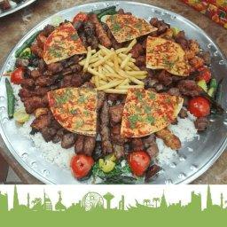 مشاوي متنوعة من اللحم والدجاج بطريقة مبتكرة وتتبيلة شهية جدا لطعم مختلف في مطعم منسفجي -  خلدا - الأردن