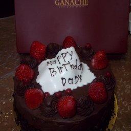 strawberry chocolate cake - 18 JD