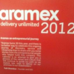 Aramex 2012 calendar