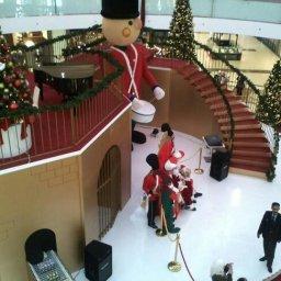 Christmas decorations at Taj lifestyle