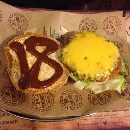 The burger 250 gm