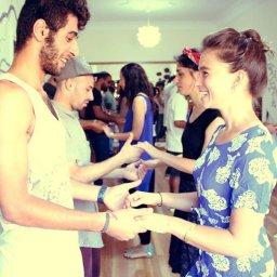 Studio 8 Salsa dance Class