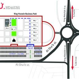 خريطة الجامعة location map