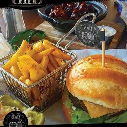delicious burger meals.