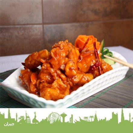 أشهى الأطباق الصينية في مطعم سيزلينج ووكس الصيني ، مكة مول ، مطعم في مول ، مطعم صيني