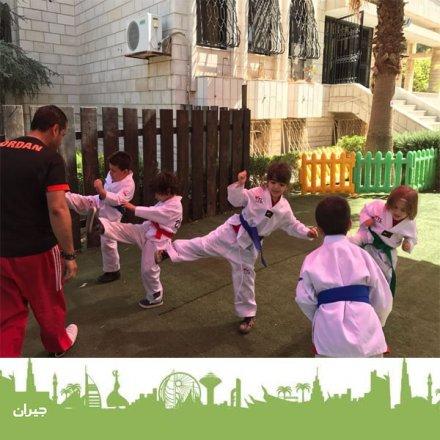نادي صيفي في عمان ، نشاطات ،رياضة الدفاع عن النفس ، تيكواندو