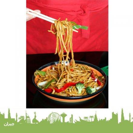 أشهى الأطباق الصينية في مطعم سيزلينج ووكس الصيني ، مطعم صيني في عمان ، أكل صيني في عمان ، مطعم صيني في مول ، مكة مول