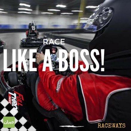 استمتع مع أسرع سيارات السباق في الاردن