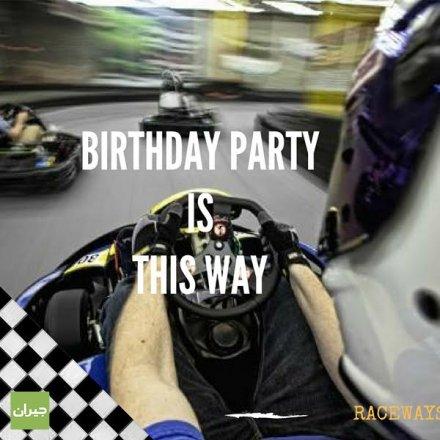 عروض مميزة لأعياد الميلاد، Raceways Karting