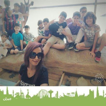 كوادر مميزة ، نادي صيفي في عمان