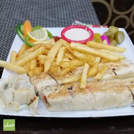 وجبة شاورما لحم سوبر