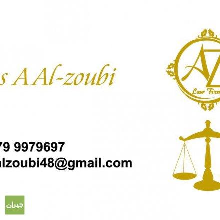 Lawyer Anas Al Zubi