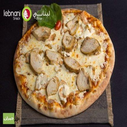 بيتزا لبناني سناك أشهر من نار على علم بأختصار مكوناتها تشدك تجربها...