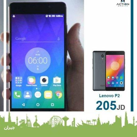 عرض خاص على موبايل lenovo p2 من أكشن موبايل - Action Mobile