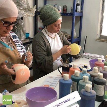 مركز الابداع الفني...تعليم رسم ، تعليم خزف ، تعليم فنون