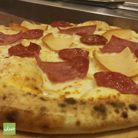 بيتزا اللحوم الثلاثة ... طعم ولا أروع