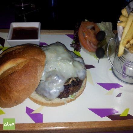 Triple Mushroom Burger