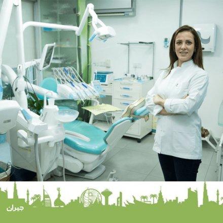 الدكتورة داليا عوده أخصائية علاج العصب و وتجميل وتركيب الأسنان في المركز الاكاديمي التخصصي لطب الاسنان حيث تتوفر معالجات الاسنان المختلفة