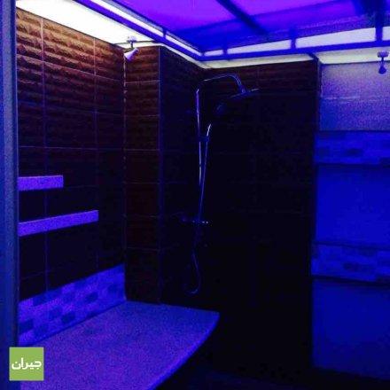 غرفة الحمام المغربي في حمام حياتي وجال
