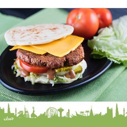 Tascoz The Burger Beef. Meal : 4.50 JD Sandwich: 3.50 JD
