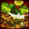 Grilled Salamon with Shrimps . :: تي جي اّي فرايدايز