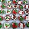 Christmas and new year cupcake :: ذي كيك شوب