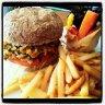 veggie burger  :: سالاد هاوس